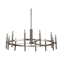 Encore 12 Light 40 inch Polished Nickel Chandelier Ceiling Light