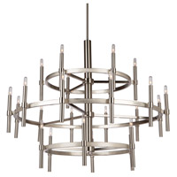 Encore 24 Light 42 inch Polished Nickel Chandelier Ceiling Light
