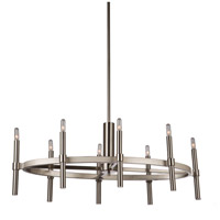ARTCRAFT Encore 8 Light Chandelier in Polished Nickel AC10668PN
