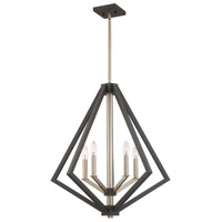 Breezy Point 5 Light 25 inch Bronze Chandelier Ceiling Light
