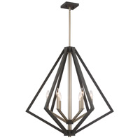 Breezy Point 6 Light 30 inch Bronze Chandelier Ceiling Light