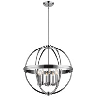 Roxbury 8 Light 26 inch Chrome Chandelier Ceiling Light