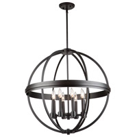 Roxbury 8 Light 26 inch Oil Rubbed Bronze Chandelier Ceiling Light