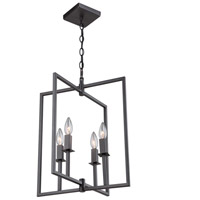 Allston 4 Light 15 inch Oil Rubbed Bronze Chandelier Ceiling Light