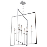 Allston 8 Light 24 inch Chrome Chandelier Ceiling Light