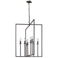 Allston 8 Light 24 inch Oil Rubbed Bronze Chandelier Ceiling Light