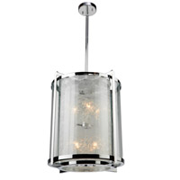 ARTCRAFT Crackled Ice 8 Light Chandelier in Chrome AC10802CH