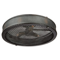 Artcraft AC10834GB Riverside 3 Light 16 inch Granite Black Semi Flush Mount Ceiling Light