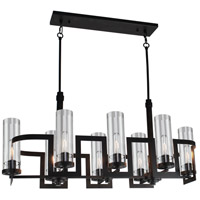 Palazzo Vecchio 8 Light 18 inch Java Brown Chandelier Ceiling Light