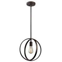 Newport 1 Light 12 inch Oil Rubbed Bronze Pendant Ceiling Light