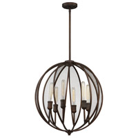 Linden 6 Light 23 inch Oil Rubbed Bronze Chandelier Ceiling Light