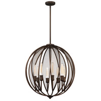 Linden 8 Light 26 inch Oil Rubbed Bronze Chandelier Ceiling Light