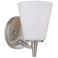 Artcraft Brushed Nickel Glass Wall Sconces