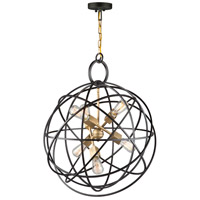 Artcraft Oil Rubbed Bronze Metal Chandeliers