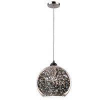 Artcraft AC10990 Lux 1 Light 10 inch Brushed Nickel Pendant Ceiling Light