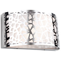 Bayview 2 Light 12 inch Chrome Wall Sconce Wall Light