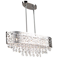 Celestial 5 Light 30 inch Chrome Island Light Ceiling Light