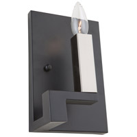 Artcraft Matte Black Metal Wall Sconces