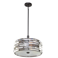 Vero 4 Light 16 inch Black Chandelier Ceiling Light