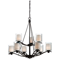 ARTCRAFT Andover 9 Light Chandelier in Oil Rubbed Bronze AC1139OB