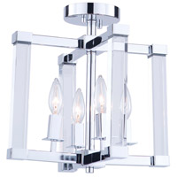 Artcraft Chrome Semi-Flush Mounts