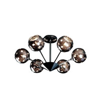 Artcraft Lighting Nebula 6 Light Flush Mount in Polished Chrome AC116 photo thumbnail