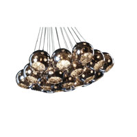 Artcraft Lighting Nebula 19 Light Chandelier in Polished Chrome AC119 photo thumbnail
