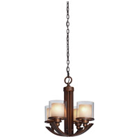 Artcraft Lighting Sierra 4 Light Chandelier in Oil Rubbed Bronze AC1244