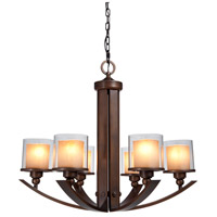 Artcraft Lighting Sierra 6 Light Chandelier in Oil Rubbed Bronze AC1246