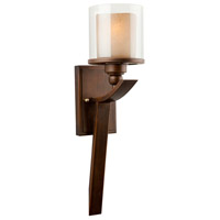 ARTCRAFT Sierra 1 Light Wall Bracket in Oiled Bronze AC1247