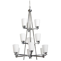 Raleigh 12 Light 36 inch Chrome Chandelier Ceiling Light