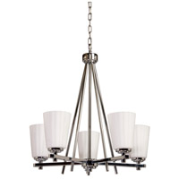 ARTCRAFT Raleigh 5 Light Chandelier in Chrome AC1275CH photo thumbnail