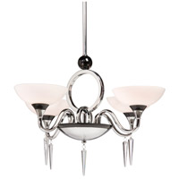 Artcraft Lighting Milano 4 Light Chandelette in Chrome AC1284