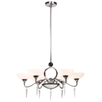 ARTCRAFT Milano 6 Light Chandelier in Chrome AC1286 photo thumbnail