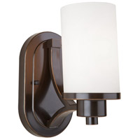 Artcraft AC1301WH Parkdale 1 Light 6 inch Oil Rubbed Bronze Wall Bracket Wall Light photo thumbnail