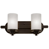 Parkdale 2 Light 12 inch White Bathroom Vanity Wall Light