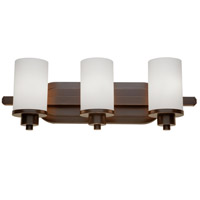 Artcraft AC1303WH Parkdale 3 Light 21 inch Oil Rubbed Bronze Bathroom Vanity Wall Light