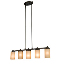 Parkdale 5 Light 38 inch White Island Light Ceiling Light