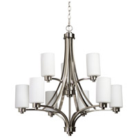 Artcraft Lighting Parkdale 9 Light Chandelier in Polished Nickel AC1309PN