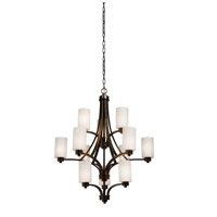 Artcraft Lighting Parkdale 12 Light Chandelier in Oil Rubbed Bronze AC1312WH