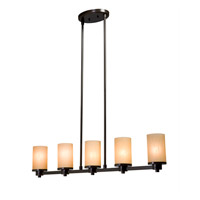 Artcraft Lighting Parkdale 5 Light Island Light in Oil Rubbed Bronze AC1315OB