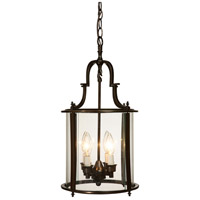 Artcraft Lighting Manor 4 Light Chandelier in Bronze AC1321BZ