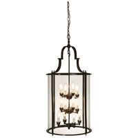 Manor 12 Light 20 inch Bronze Chandelier Ceiling Light