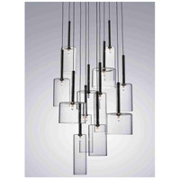 Artcraft Lighting Berlinetta 12 Light Chandelier with Clear Glass AC1342CL