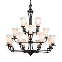 Artcraft Lighting Wellington 16 Light Chandelier in Oil Rubbed Bronze AC1370 photo thumbnail