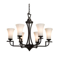 Artcraft Lighting Wellington 6 Light Chandelier in Oil Rubbed Bronze AC1376 photo thumbnail