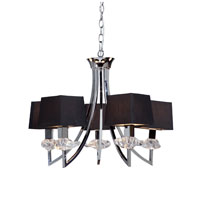 Artcraft Lighting Savoy 5 Light Chandelier in Chrome AC1425
