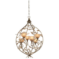 Artcraft Lighting Louvre 6 Light Chandelier in Bronzed Gold AC1516