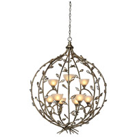 Artcraft Lighting Louvre 9 Light Chandelier in Bronzed Gold AC1519 photo thumbnail
