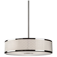 Artcraft Lighting Scarsdale 3 Light Pendant in Chrome AC152